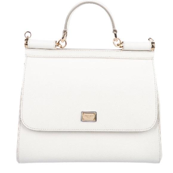 8bf2b066d3 Dolce & Gabbana Bags   Ivory Dauphine Dolce Gabbana Medium Miss ...